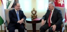 Binali Yıldırım-Barzani görüşmesinde terör vurgusu haberi