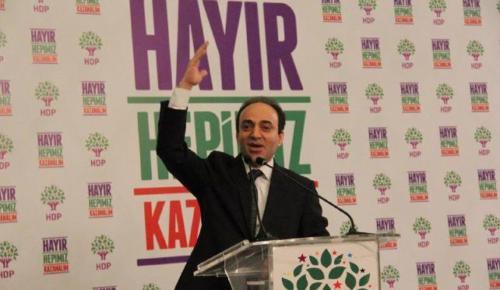 HDP kampanyaya başladı… Osman Baydemir: Topunuza 'Hayır'