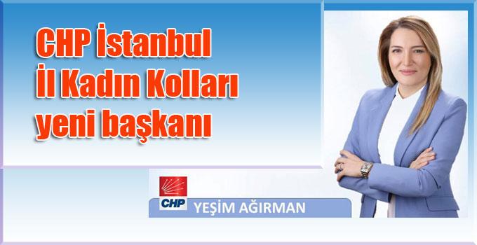 CHP İstanbul İl Kadın Kolları yeni başkanı Yeşim Ağırman