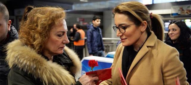 CHP İstanbul Kadın Kolları Başkanı Ağırman, AKP'li başkanı istifaya çağırdı