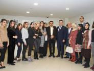 Kartal'da 'Barış ve Dostluk' Sergisinin Açılışı Gerçekleştirildi